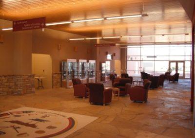 Acoma Community Center interior
